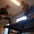 Just a regular schoolband rehearsal :) Melvin Hersevoort & Vincent van Zwieten, 2013-04-26 14.13.10