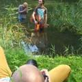 Fotoshoot 'Let me entertain you', vlnr: Jeroen Keep, Timon Oldegberts & Thomas Meijboom