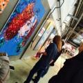 'Live' schilderen