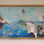 Masterpieces' Prophecies'; 2016; acryl on canvas; 290×150 cm.